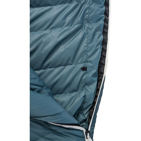 Grüezi-Bag Biopod Down Hybrid Ice Cold 200 Sleeping Bag platin grey